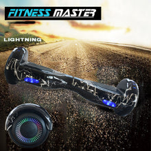 Load image into Gallery viewer, 6.5inch Aluminium Wheel Self Balancing Hoverboard Electric Scooter Bluetooth Speaker LED Lights Waterproof Hover Board