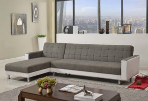Sofa bed 3m Linen Fabric 5 Seater Recliner Coner Funton Couch Lounge 3 Colors-FB Special
