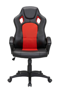 Red Color Executive Gaming Chair Office Computer Seating Racer Recliner Chairs