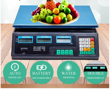 Load image into Gallery viewer, 40KG Digital Kitchen Scale Electronic Scales Shop Market Commercial