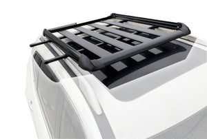 140*100 Black Single Aluminium AlloySUV 4x4 Roof Rack Basket Cargo Luggage Carrier Box