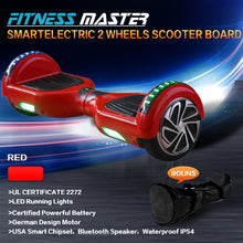 Load image into Gallery viewer, 6.5inch and 8.5inch Aluminium Wheel Self Balancing Hoverboard Electric Scooter Bluetooth Speaker LED Lights Waterproof Hover Board