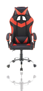 Red Color High Back Executive Gaming Chair Office Computer Seating Racer Recliner Chairs