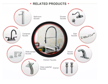 Load image into Gallery viewer, Kitchen Bathroom Laundry Shower Water Basin Mixer Tap Vanity Sink Faucet WELS-Type K
