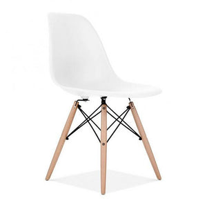 Retro Replica Eiffel Dining Chairs DSW Cafe Kitchen Beech Wooden