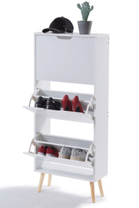 Multi Styles Shoe Cabinet Organizer Storage Wooden Rack Shelf Box Drawer