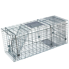 Load image into Gallery viewer, 13inch Foldable Live Animal Trap Possum Feral Cat Rabbit Bird Animal Dog Hare Fox Cage Live Humane Catch