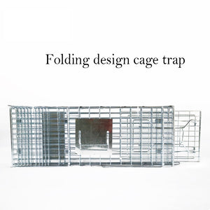 13inch Foldable Live Animal Trap Possum Feral Cat Rabbit Bird Animal Dog Hare Fox Cage Live Humane Catch