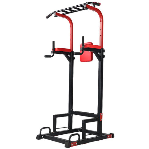 Dip Tower Knee Raise Chin Up Push Up Gym Station Weight Bench Rack Fitness Multi Function