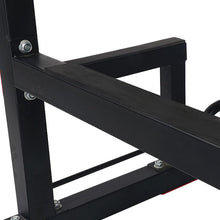 Load image into Gallery viewer, Dip Tower Knee Raise Chin Up Push Up Geym Station Weight Bench Rack Fitness Multi Function