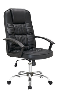 Office Chair PU Leather Computer Gaming Executive Racer Chairs Gas Lift Seat