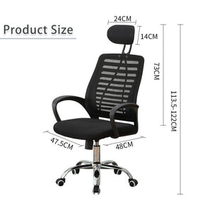 High Back Black Executive Mesh Breathable Home Office Game Chair Computer Swivel Lift