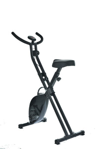 Magnetic Exercise Bike Folding Upright X Bicycle Cycling Fitness Gym Home Train