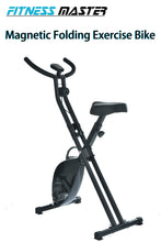 Load image into Gallery viewer, Magnetic Exercise Bike Folding Upright X Bicycle Cycling Fitness Gym Home Train