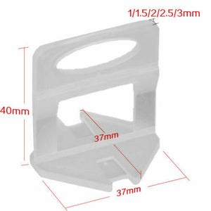 2.5mm Clips 2000pcs Tile Leveling System Spacer Tiling Tool Floor Wall
