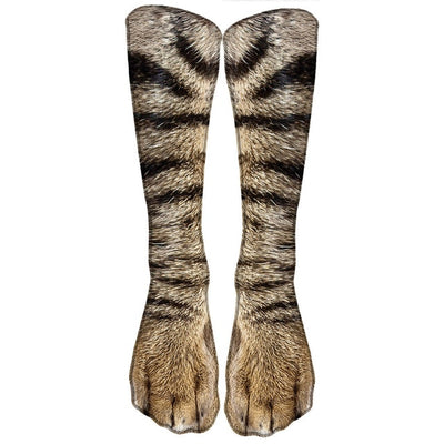 Animal Print High Socks - Daryljr store
