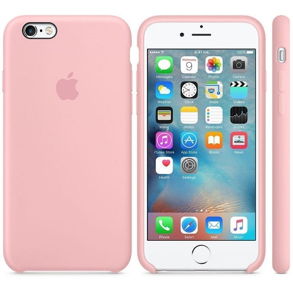 sneakers for cheap 00059 cb952 iPhone 6/6s Official Apple Silicone Case – Pink Sand
