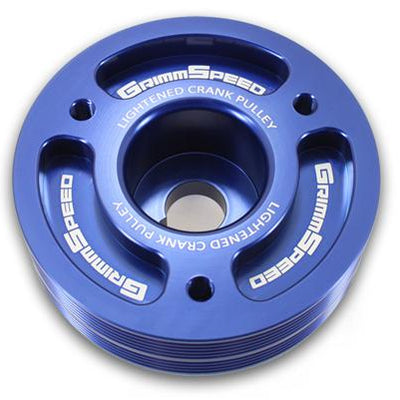 Grimmspeed Lightweight Crank Pulley - 1999-2011 Impreza / 94-09' Legacy / 98-09' Forester