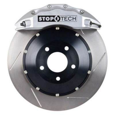 StopTech 12-16 Audi A4 Front BBK w/ Silver ST-60 Calipers Slotted 355x32mm Rotors - 83.119.6700.61