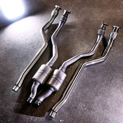 CTS Turbo Audi 3.0T SC V6 Downpipes / Test Pipes