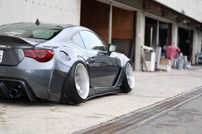 Rally Backer Version 2 - 16 Piece Wide Body Kit