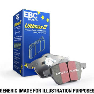 EBC Ultimax2 Rear Brake Pads - 17-19 Audi A4/A5/Q5