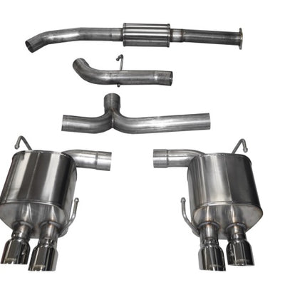 Corsa 2015 Subaru WRX Cat Back Exhaust, Polished Quad 3.5in Tips *Sport* - 14857