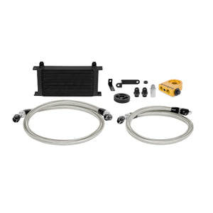 Mishimoto 08-14 Subaru STi Thermostatic Oil Cooler Kit - Black