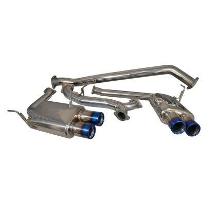 Injen Cat Back Exhaust w/ Burnt Stainless Tips - Subaru WRX / STi 2015+