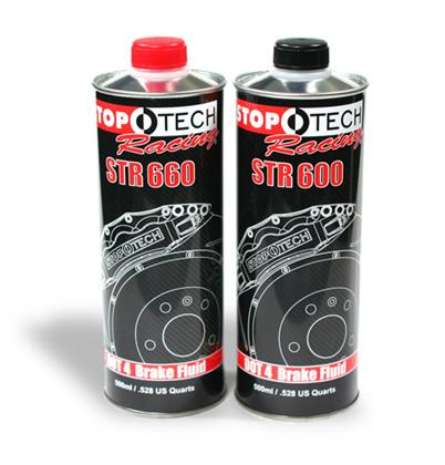Stoptech STR-600 High Performance Street Brake Fluid - 500mL - Universal