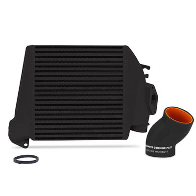 Mishimoto 08-14 Subaru WRX Top-Mount Intercooler Kit - Powder Coated Black & Black Hoses