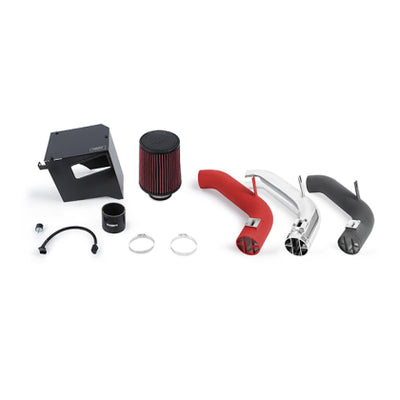 Mishimoto 2014+ Subaru Forester XT Performance Air Intake Kit - Wrinkle Red