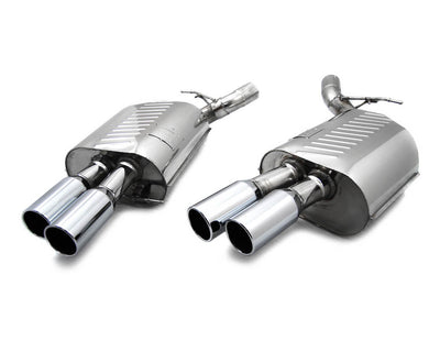 Eisenmann Stainless Axleback Exhaust 4x83mm Round Tips - BMW M6 E6X (06-10')