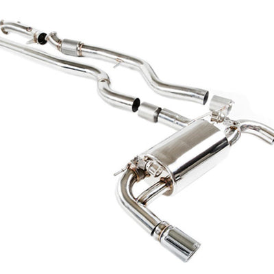 iPE Stainless Steel Valvetronic Exhaust System w/ Dual Polished Tips and Remote - BMW 335i F30 (12-16')