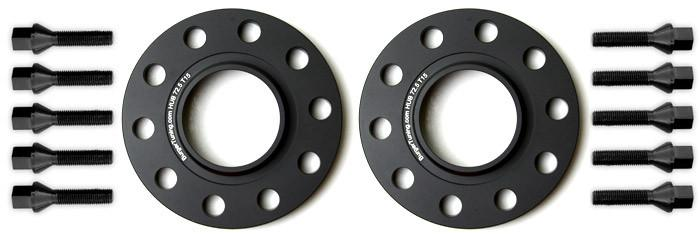 Burger Motorsports BMW Wheel Spacer Kit w/10 Bolts - E-Chassis