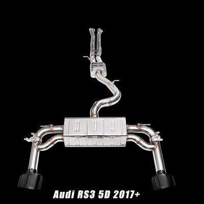 iPE Stainless Steel Exhaust System - Audi RS3 8V.2 (17'+)