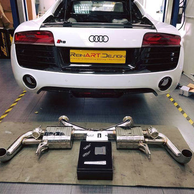 IPE Stainless Steel Exhaust System w/ Remote - Audi R8 V8 MK1.5 (13-16')