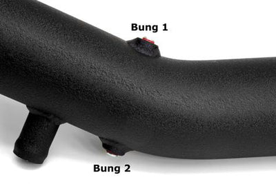 BMS N55 Aluminum Replacement Chargepipe - E-Series BMW