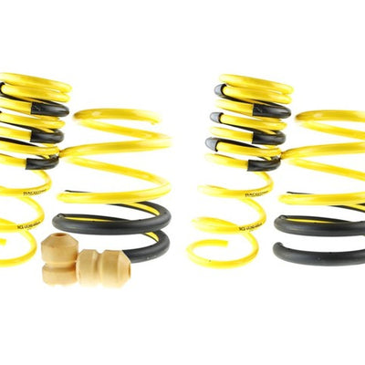 Racecomp Engineering Yellow Lowering Springs - Subaru WRX / STi 02-07'
