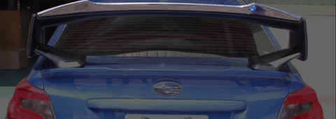 2015-2019 Subaru Impreza STi Wing Extension (Carbon Fiber)