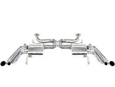 iPE Stainless Steel Valvetronic Exhaust System w/ Remote - Audi R8 4.2L (07-12')
