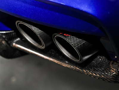 iPE Titanium Valvetronic Exhaust System w/ Quad Polished Tips and Remote - BMW M6 F13 (13-19')