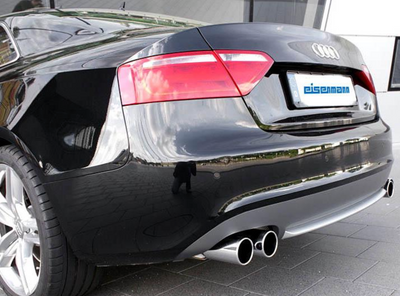 Eisenmann Stainless Axleback Exhaust 4x83mm Round Tips - Audi S5 (4.2L / 08-16')