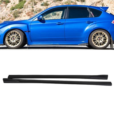 08-14 Subaru Impreza WRX STI CS Side Skirt Extensions