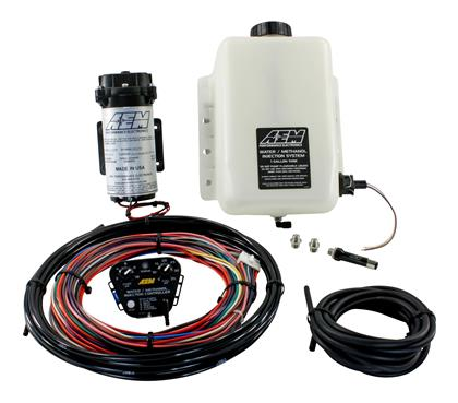 AEM Electronics Water / Methanol Injection Kit V2 (up to 35psi) w/ 1 Gallon Tank