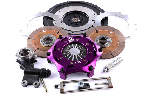 XClutch Twin Solid Ceramic Clutch Kit - 04-14' Subaru STi