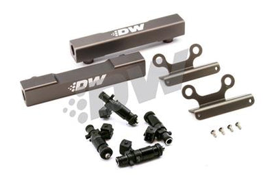 DeatschWerks Fuel Injectors 1200cc w/ Top Feed Fuel Rails - 02-14' WRX / 07'+ STi