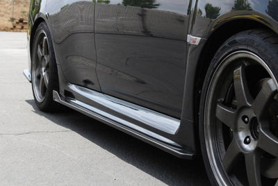 APR Carbon Fiber Side Rocker Extensions - 2015+ WRX / 2015+ STi