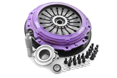 XClutch Twin Carbon Blade Clutch Kit - 04-14' Subaru STi