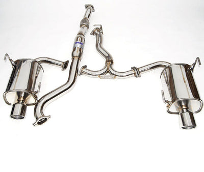 Invidia 08-09 WRX Sedan Q300 Dual Stainless Steel Tip Cat-back Exhaust